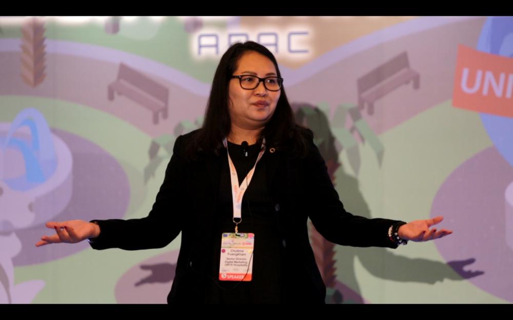 ONYX Hospitality Group Keynote Session at Digital Travel APAC 2019