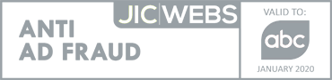 JICWEBS Anti Ad Fraud Logo Showing Audit by ABC
