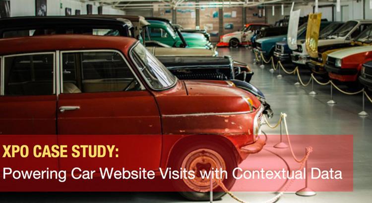 Powering Mitsubishi Website Visits with Contextual Data 1