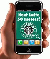Starbucks location based mobile advertising example