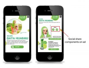 Mobile ads for conversion